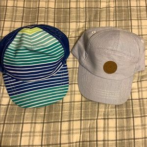 2 baby boy caps. New without tags H&M and Cat&Jack